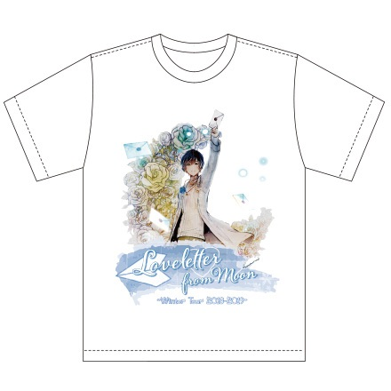 【天月-あまつき-】TシャツLoveletter from Moon Winter Tour 2018-2019