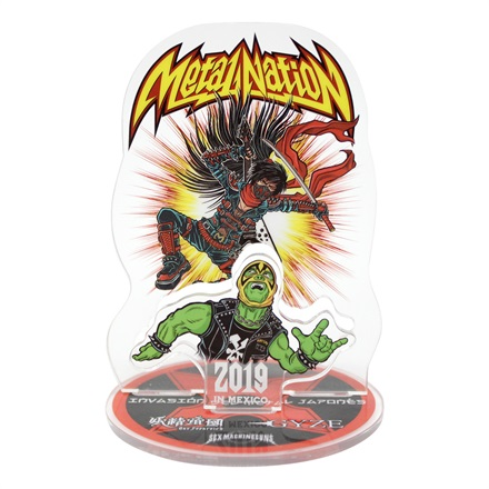 【METAL NATION 2019 IN MEXICO】オフィシャルグッズ アクリルスタンドA