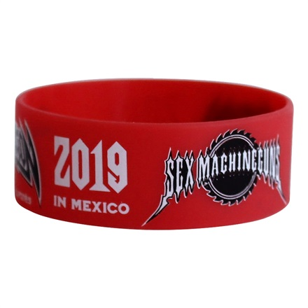 【METAL NATION 2019 IN MEXICO】アーティストコラボグッズ ラバーバンド SEX MACHINEGUNS