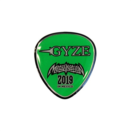 【METAL NATION 2019 IN MEXICO】アーティストコラボグッズ ピンズ GYZE