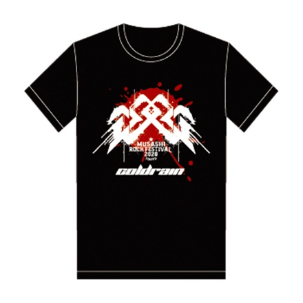 【MUSAFES.× coldrain】Tシャツ(S)