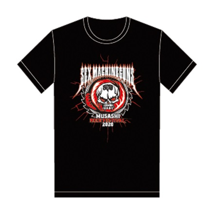 【MUSAFES.× SEX MACHINEGUNS】Tシャツ