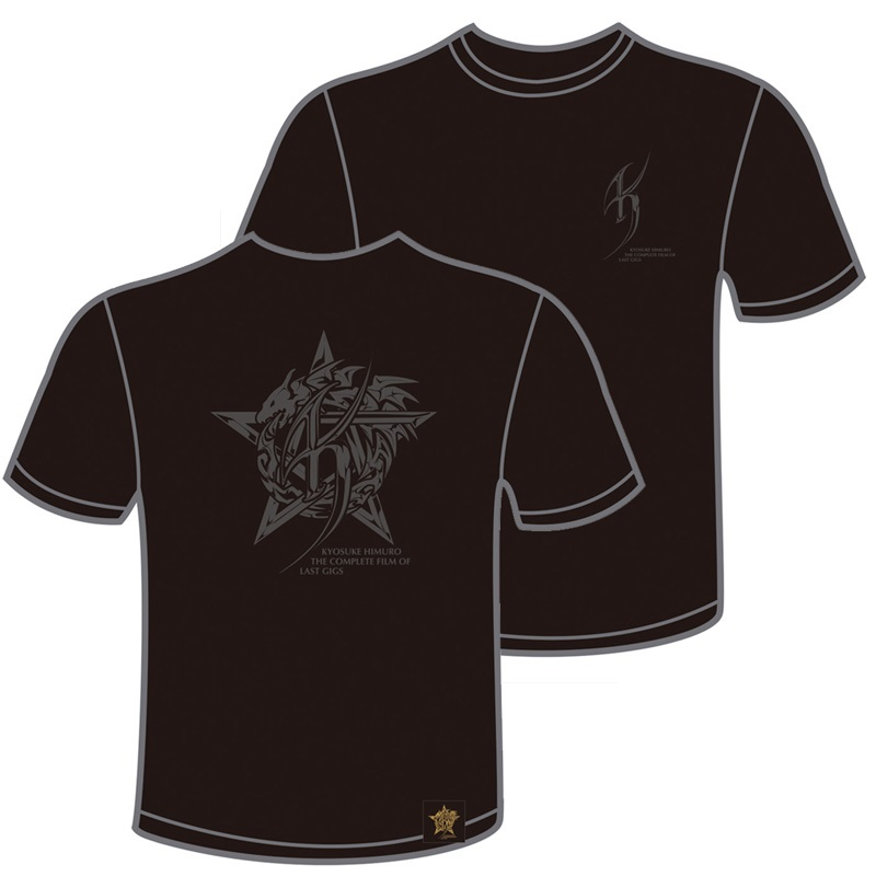 【LAST GIGSフィルムコンサートオリジナルグッズ】Tシャツ A(ツアーロゴ)