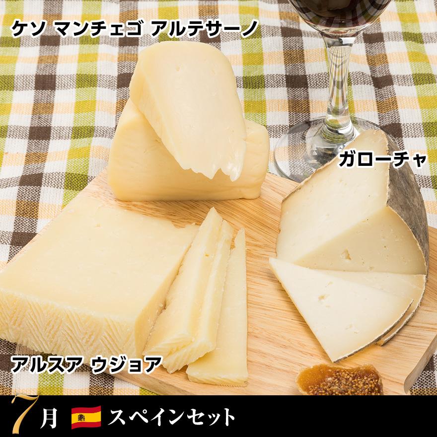 WOWOWチーズ!チーズ!チーズ!定期便 07月のチーズ