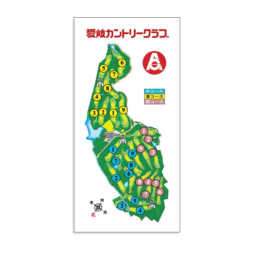 ゴルフ】ゴルフメモ [岐阜県可児市] 愛岐カントリークラブ(27 Holes ...